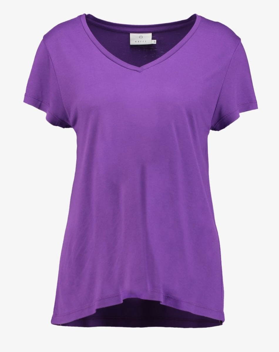 Bright purple top