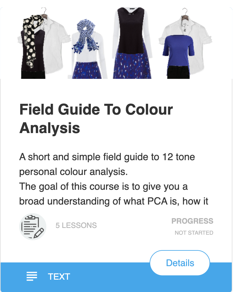 Guide to Personal Colour Analysis